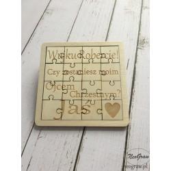 Puzzle - dla chrzestnego