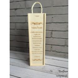 Pudełko na wino - Najlepszy...