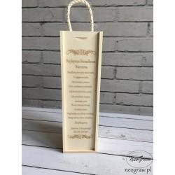 Pudełko na wino - Najlepsza...