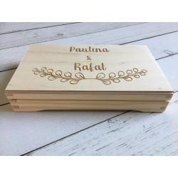 Pudełko na banknoty -ślub