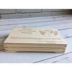 Pudełko na banknoty - Chrzest