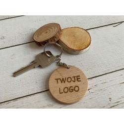 Brelok do kluczy logo