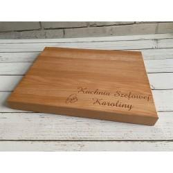 Drewniane deski kuchenne do krojenia z grawerem | Neograw